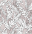 Abstract feathers pattern seamless pattern vector image