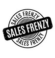 sales frenzy rubber stamp vector image
