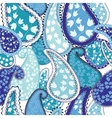 Seamless PatternPaisley Colorful Background vector image