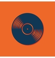 vinyl icon vector image