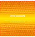 yellow background hot label light shines bright vector image