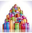 Mountain gifts vector image