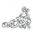 Royal classic ornament element vector image