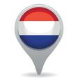 dutch flag pointer vector image