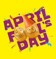 to april fools day vector image