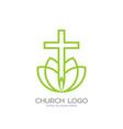 cross of the savior jesus christ vector image