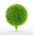 foliage bubble5 vector image
