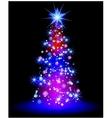 Christmas star vector image vector image