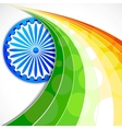 Indian Flag Background vector image