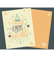 Have yourself Christmas card vector image vector image