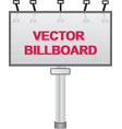 city light billboard vector image