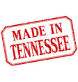 Tennessee - made in red vintage isolated label vector image