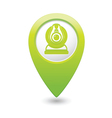 web camera GREEN map pointer vector image