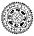 Aztec sign on white background vector image