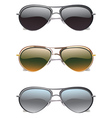 Sunglasses Icons2 vector image