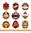 Vctor luxury labels vector image vector image