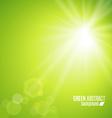 green vector image