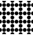 seamless pattern simple floral geometric texture vector image