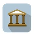 Bank icons vector image