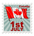 national day of Canada vector image
