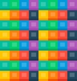 Flat boxes seamless background vector image