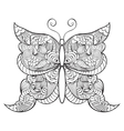 abstractbutterfly on white background vector image