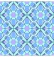 Decorative mosaic seamless pattern vector image