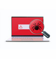 computer viruses concept vector image vector image