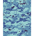 ocean camo tileable vector image vector image