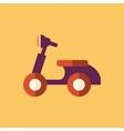 Bike Transportation Flat Icon vector image vector image