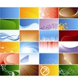 vector collection business card vector image vector image