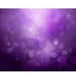 Purple lights background vector image