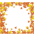 Colorful autumn vector image vector image