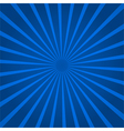 Abstract background with blue rays vector image