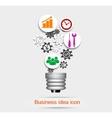Business idea icon vector image