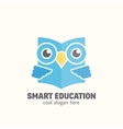 Smart Education Abstract Logo Template vector image