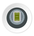 round stadium top view icon circle vector image vector image