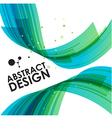 Abstract technology bend background vector image vector image
