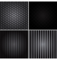 dark backgrounds vector image vector image
