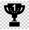 first prize cup icon vector image