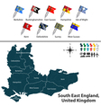 South East England vector image