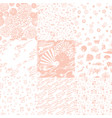 a set of templates with japanese themes vector image