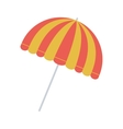 full color with parasol opened vector image