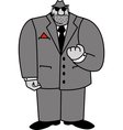 Mobster vector image