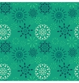 Christmas seamless pattern Blue and white vector image