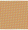 retro diagonal pattern vector image
