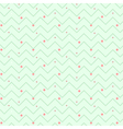 Zigzag christmas pattern vector image