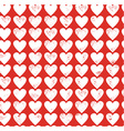 red love vector image