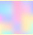 stylish holographic background vector image