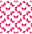 Bow Seamless Pattern vector image